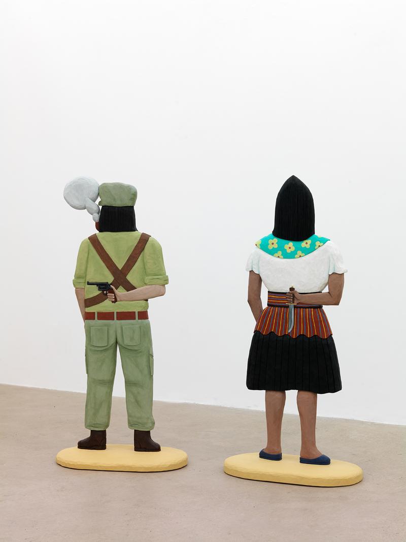 Subcomandante Marcos, Captain Irma Oljefärg på lind