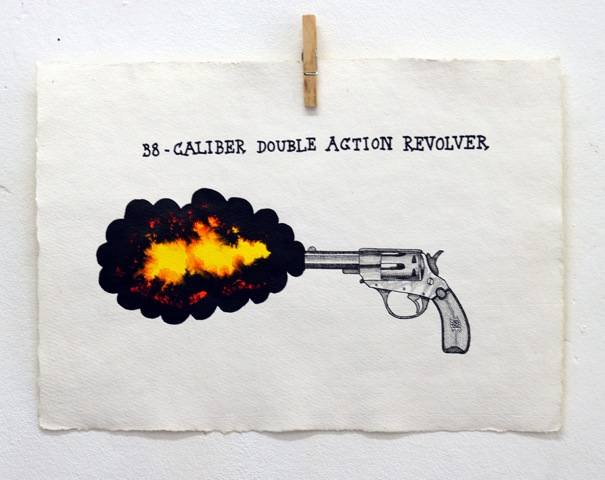 Old Killers 1 40 X 30 cm tusch & gouache