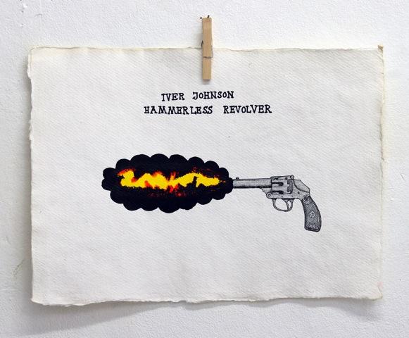 Old Killers 4 40 X 30 cm tusch & gouache