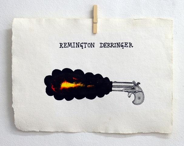 Old Killers 5 40 X 30 cm tusch & gouache