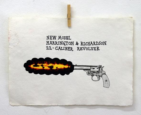 Old Killers 8 40 X 30 cm tusch & gouache
